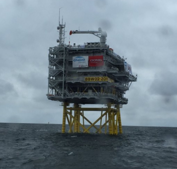 Offshore-Installation Burbo Bank