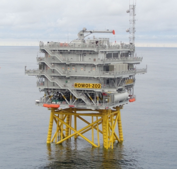 Offshore installatie Race Bank 02