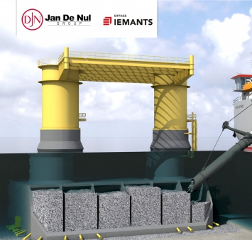 Iemants and Jan De Nul to build Gravity Based Foundations for Kriegers Flak