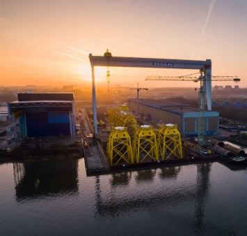 Focus on the Beatrice Offshore Wind Farm