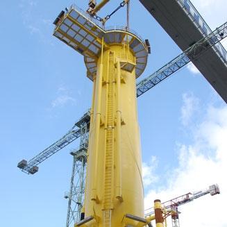 Humber Gateway arc d'éoliennes | TP
