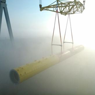 Eneco Luchterduinen parc d'éoliennes | TP